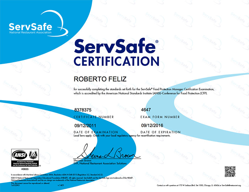 Servsafe Food Inspection We Inspect For You Happy Home